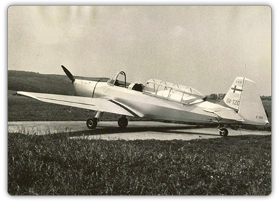 "Zlín Z-126 ""Trener ready for a flight to a foreign customer"""
