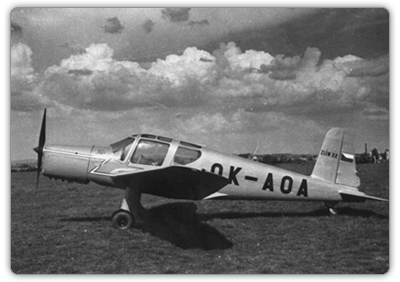 One of two Z-122 planes (here it is marked with Z-122)