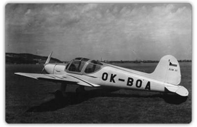 Letoun Z-22 s motorem Praga