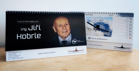Calendriers ZLIN AIRCRAFT a.s.