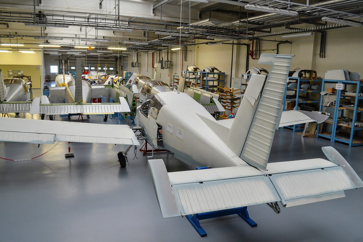 ZLIN AIRCRAFT IS AGAIN EXTENDING ITS PRODUCTION